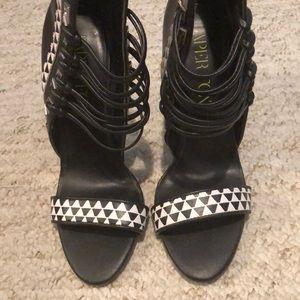 Paper fox stiletto heels (NEVER WORN)